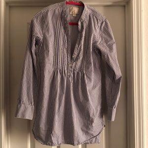Victoria's Secret striped sleep shirt XS
